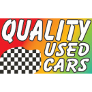 Quality Used Cars Flag 3x5