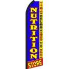Nutrition Store Swooper Flag