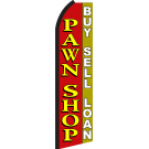 Pawn Shop Swooper Flag Buy Sell Loan