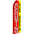 Accounting Swooper Flag