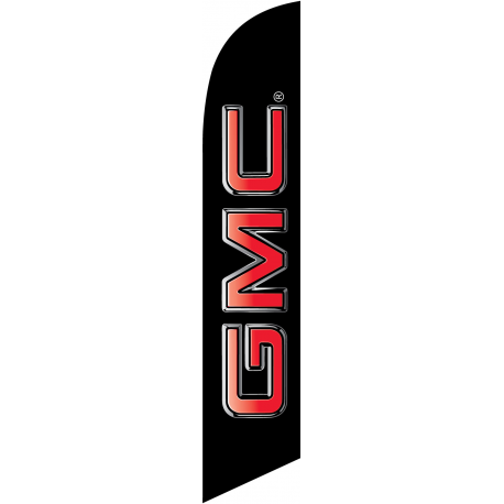 GMC feather flag width=