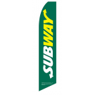 subway flag green half-sleeve