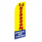 1 - 2 Bedroom Flag Kit Yellow With Pole And Spike Sre-9011