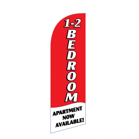 1 - 2 Bedroom Flag Kit Red With Pole And Spike Sre-9010 width=