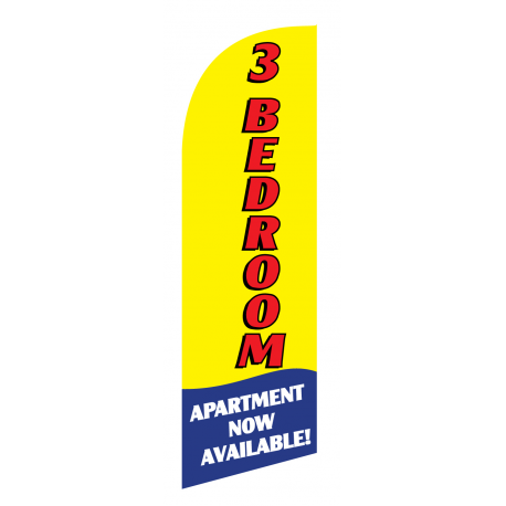 3 Bedroom Flag Kit Yellow With Pole And Spike Sre-9014 width=