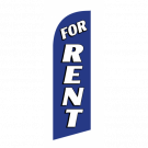 For Rent Flag Kit Blue With Pole And Spike Sre-9015
