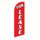 For Lease Flag Kit Red With Pole And Spike Sre-9019