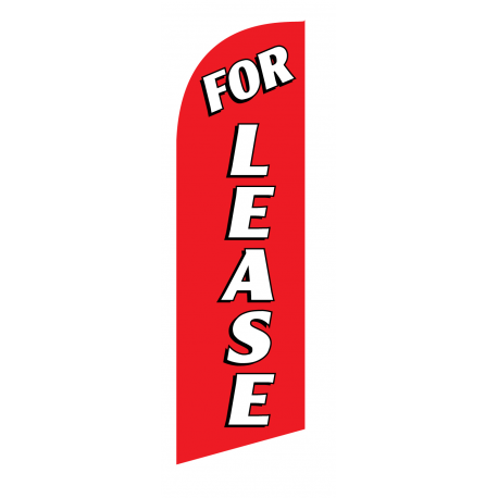 For Lease Flag Kit Red With Pole And Spike Sre-9019 width=