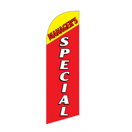 Managers Special Flag Kit Red With Pole And Spike Sre-9028 width=