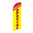 Managers Special Flag Kit Yellow With Pole And Spike Sre-9029