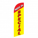 Move In Special Flag Kit Yellow With Pole And Spike Sre-9032