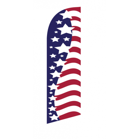 American Gloryl Flag Kit Vertical With Pole And Spike Sre-9033 width=