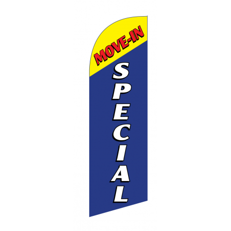 Move In Special Flag Kit Blue With Pole And Spike Sre-9030 width=