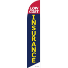 low cost insurance feather flag