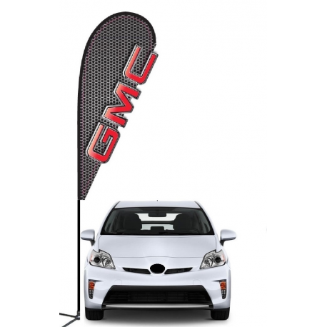 GMC 3D Double-sided Teardrop Flag Kit #969 width=