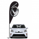 Lexus 3D Double-sided Teardrop Flag Kit #969