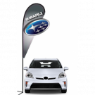 Subaru 3D Double-sided Teardrop Flag Kit #969