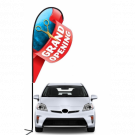 Grand Opening 3D Double-sided Teardrop Flag Kit #969