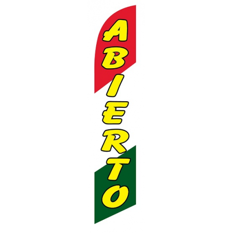 Abierto Feather Flag width=