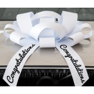 Giant Magnetic CONGRATULATIONS Car Bow
