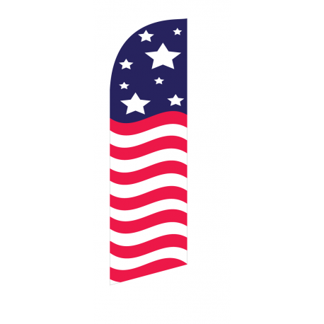 American Glory Flag only width=