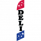 Deli Feather Flag Patriotic 12ft Poly Knit