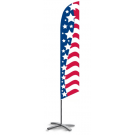 American Glory Vertical feather flag