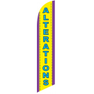 Alterations Feather Flag 12ft Poly Knit