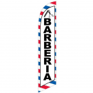 Barberia Feather Flag 12ft Poly Knit