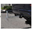 Tow Hitch Mount Flagpole Holder