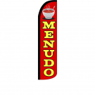 Menudo Feather Flag 12ft Poly Knit