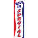Move In Special Drape Flag