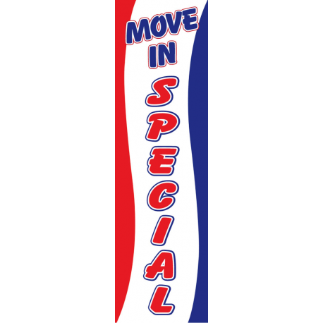 Move In Special Drape Flag width=