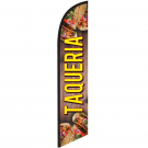 Taqueria Feather Flag 12ft Poly Knit