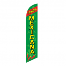 Comida Mexicana Feather Flag 12ft Poly Knit