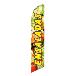 Ensaladas Feather Flag 12ft Poly Knit width=