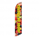 Jugos de Frutas Feather Flag 12ft Poly Knit