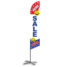 Sale Here Feather Flag Patriotic 12ft Poly Knit