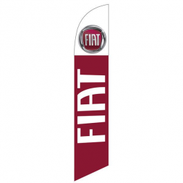 FIAT Feather Flag 12ft Poly Knit width=