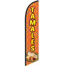 Tamales Feather Flag 12ft Poly Knit