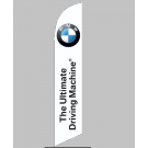 BMW The Ultimate Driving Machine Feather Flag 12ft Poly Knit