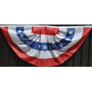 Patriotic Pleated Fan Bunting - Stars & Stripes