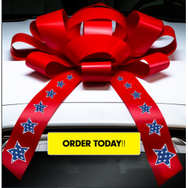 New! 4th Of July Bows!! width=