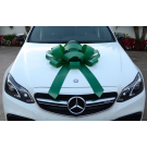green magnetic car bow