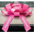 New! 30 Inch Giant Pink Congratulations Graduate Magentic Car Bow Jum-bow