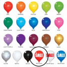 Red Sale Permashine 13 Inch Replacement Balloon