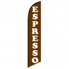 Espresso Feather Flag (coffee)
