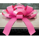 Giant Pink Magnetic Car Bow - Large 30 inch Size