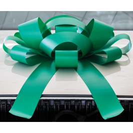 Giant Green Magnetic Car Bow - Large 30 inch Size width=