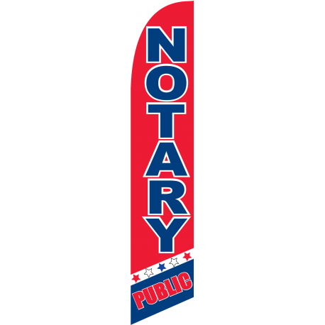 Notary Public Flag width=